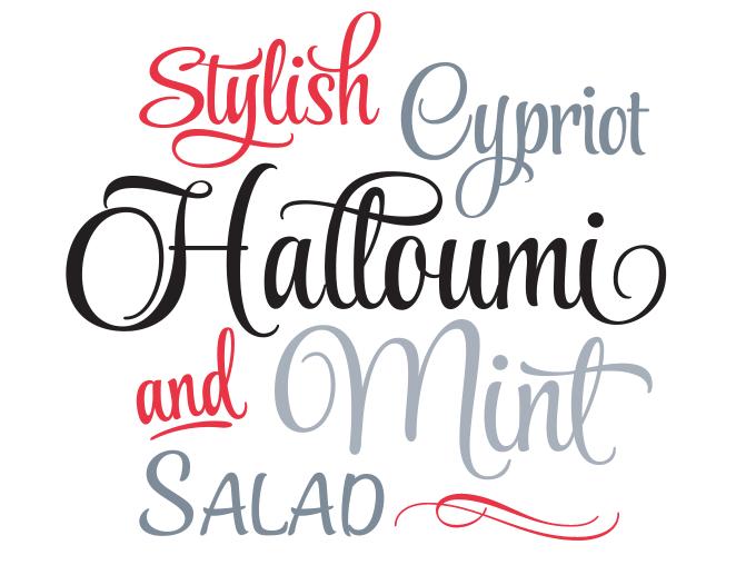 8 Script-Style Font Sample Images - Script Font Styles, Most