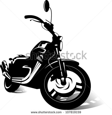 Motorcycle Sport Bike Vector