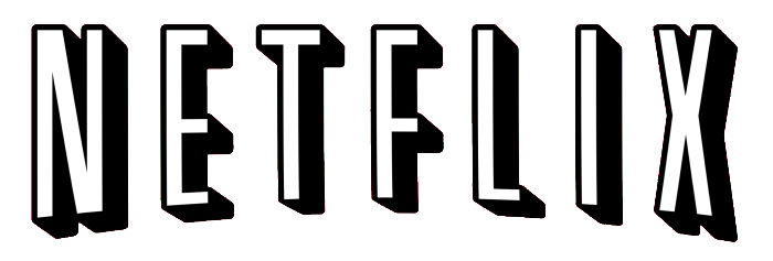 Netflix Logo Black and White