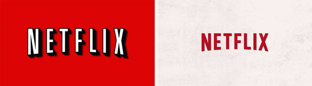 Netflix New and Old Logo