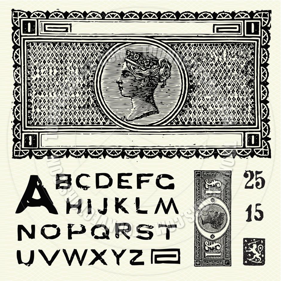 Old World Font