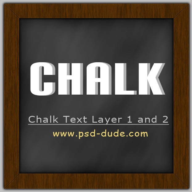 Photoshop Chalk Effect