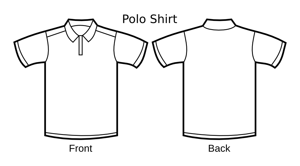 8 Polo Shirt Design Template Images