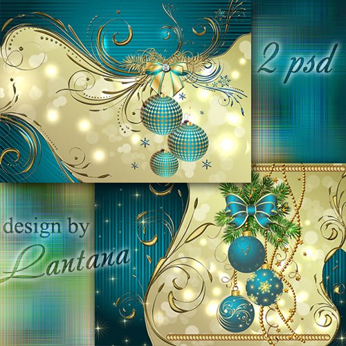 PSD Christmas Templates