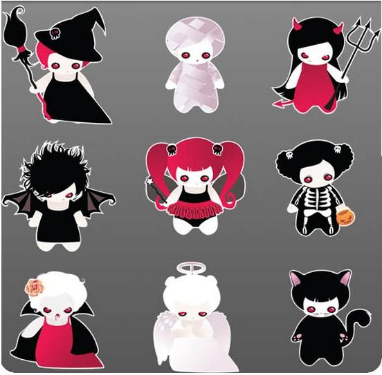 Scary Cartoon Characters