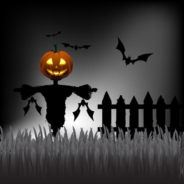 Scary Halloween Cartoon
