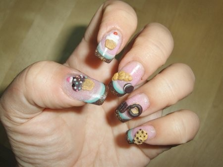 15 Nail Designs For Short Nails Easy Do Yourself Images - Dripping ...