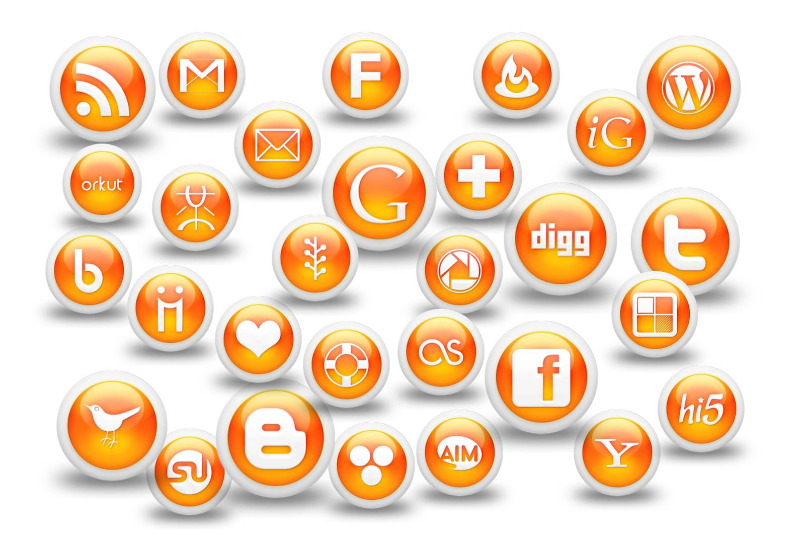 14 Business Management Icon Orange Images