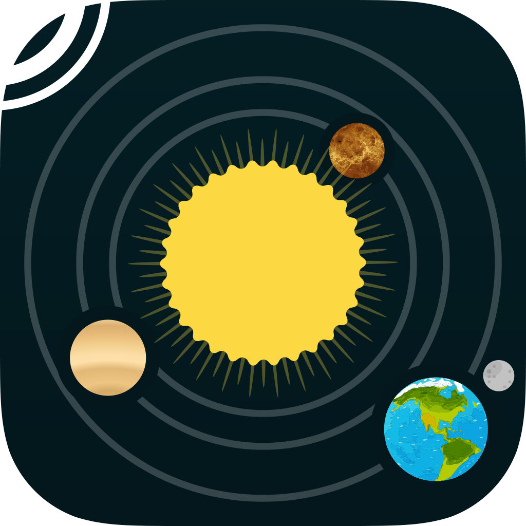 5 Solar System Icon Images