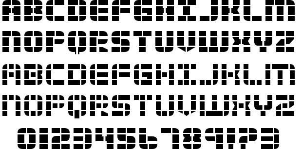 Technology Font