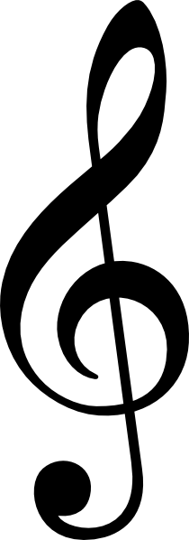 12 Treble Clef Vector Images