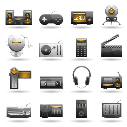 Vector Technology Icons
