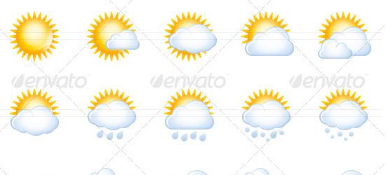 8 Forecast Icon Weather Symbols Images Weather Forecast Symbols