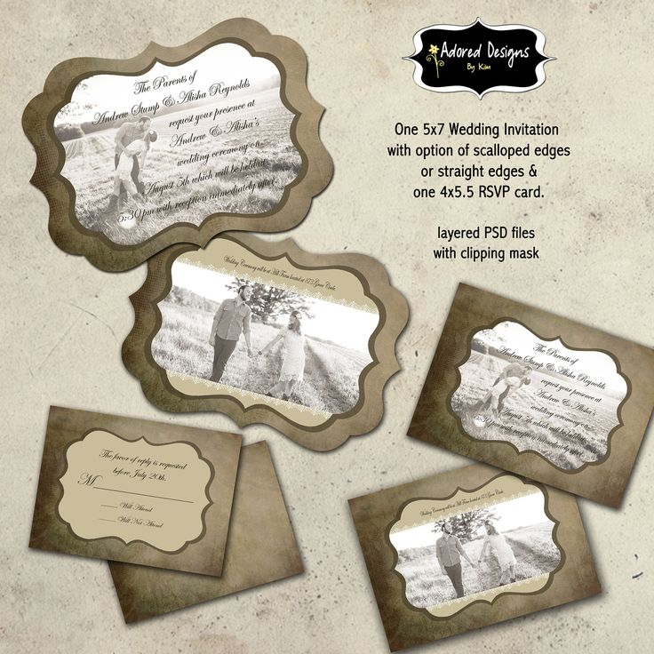 18 Download Invitation Cards PSD Templates For Weddings Images
