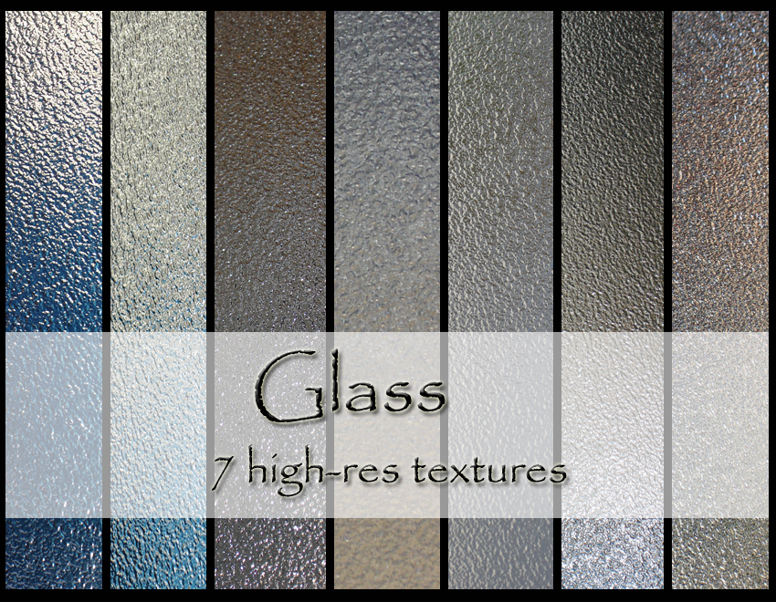 Window Glass Texture Photoshop