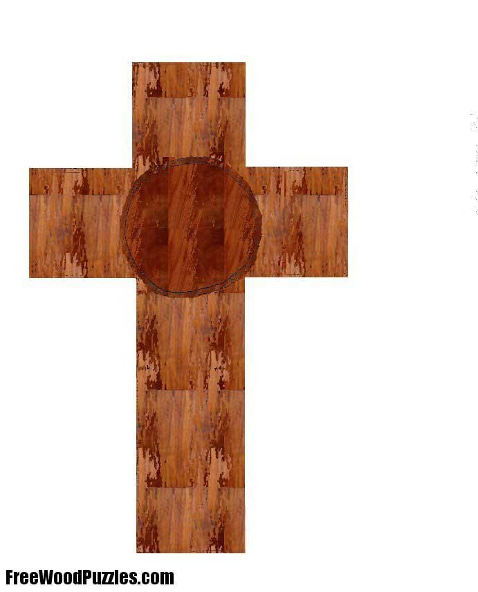 Wooden Cross Patterns