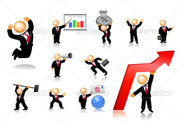 14 Two People Working Icon Images