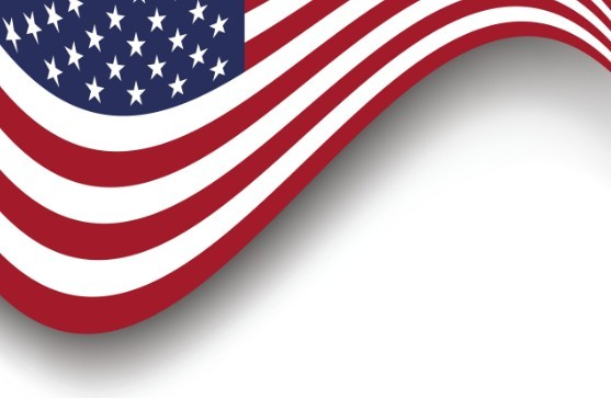 8 American Flag Border Vector Images