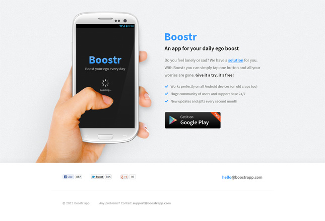 Android App Design Template