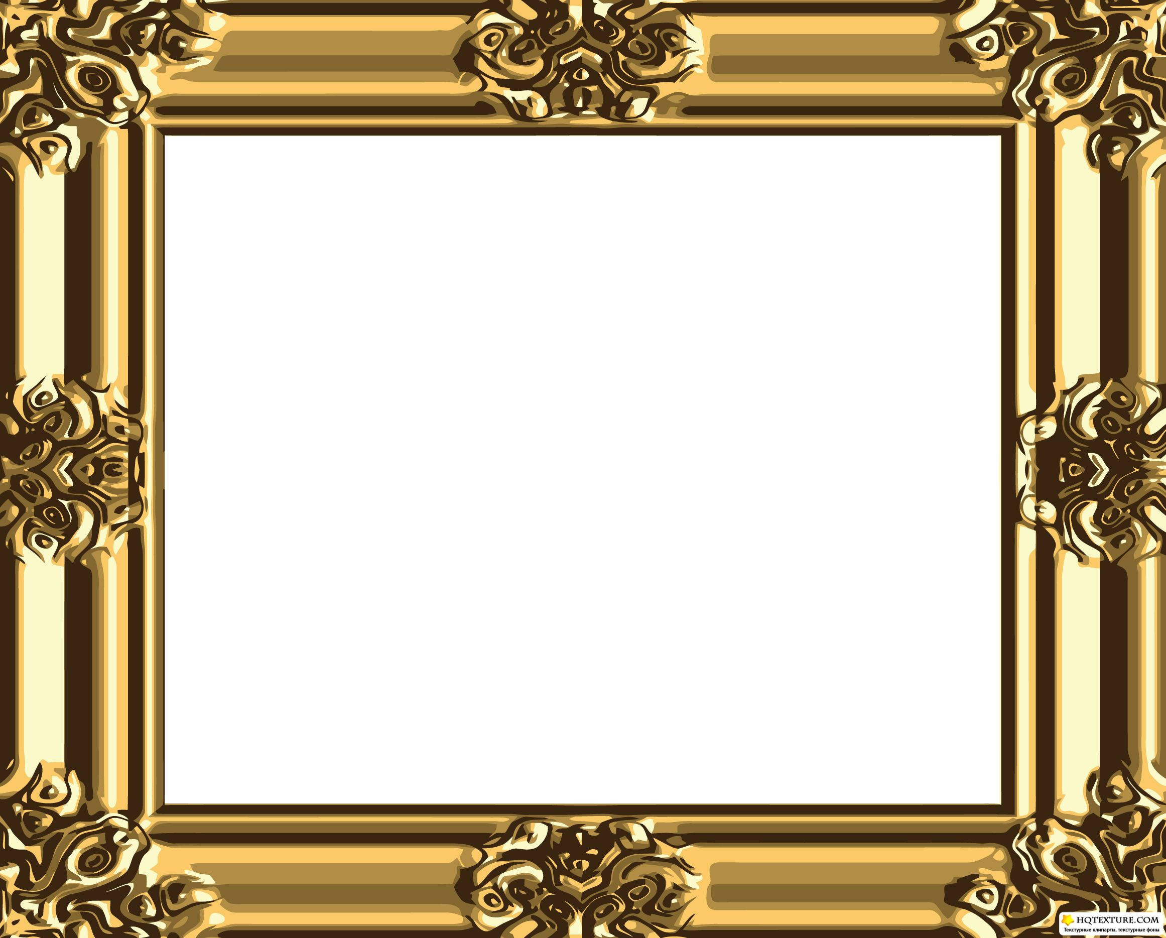 5 Gold Vintage Frame Vector Images