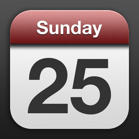 9 Apple Calendar Icon Images