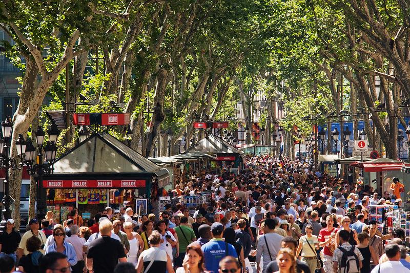Barcelona Spain People