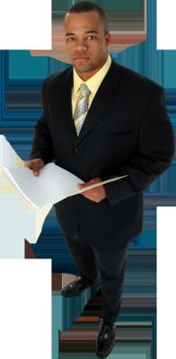 8 Black Man In Suit PSD Images