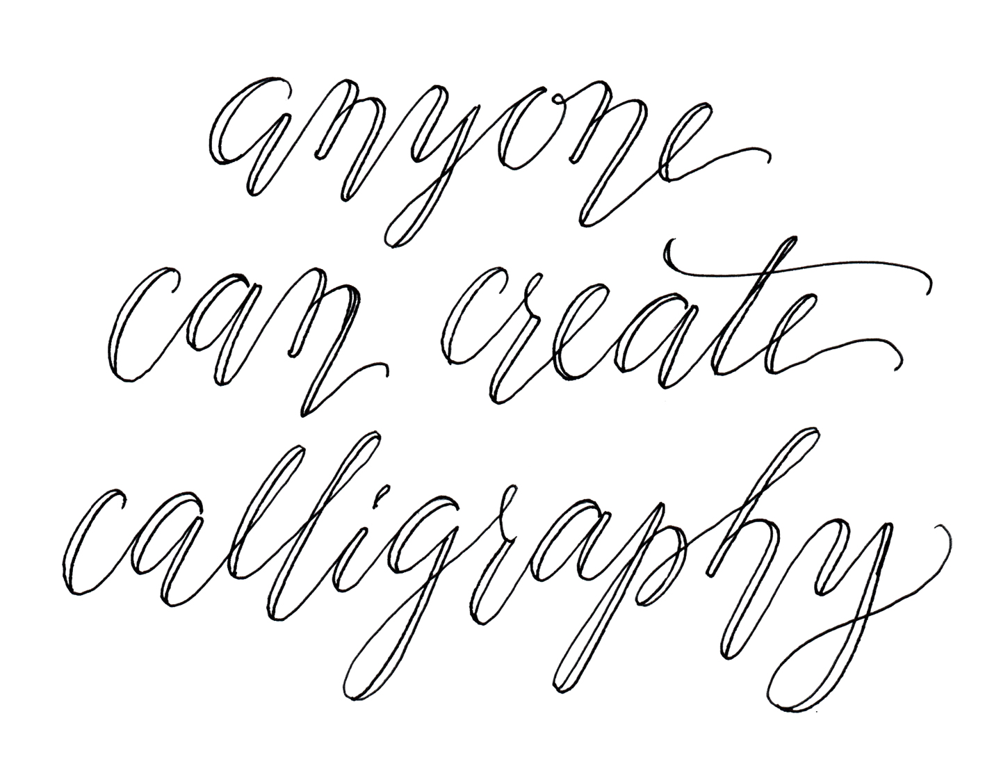 Related keywords suggestions for modern calligraphy