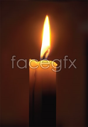 9 Candle Flame Vector Images
