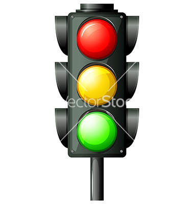 Cartoon Traffic Light