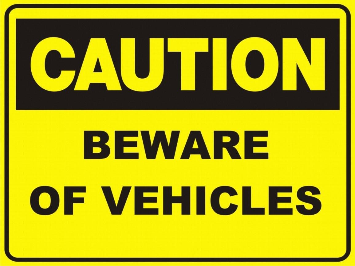 Caution Radiation Sign
