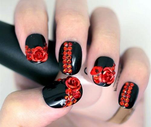 Cool Short Nail Polish Designs
