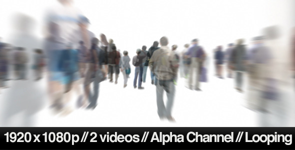 13 Crowd Of People Walking PSD Images