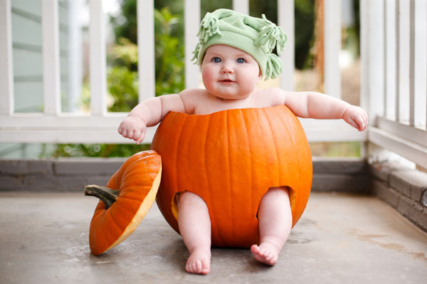 11 Halloween Baby Photography Images