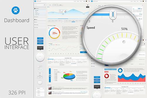 Dashboard User Interface Template