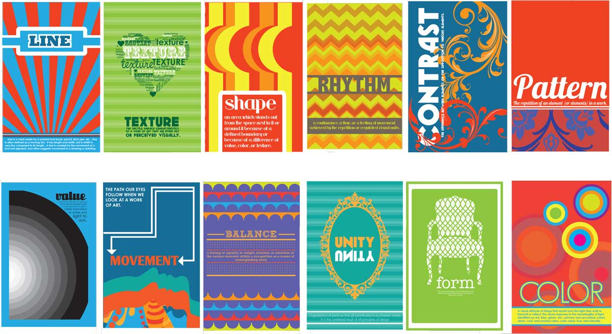 9 Graphic Design Principles And Elements Images
