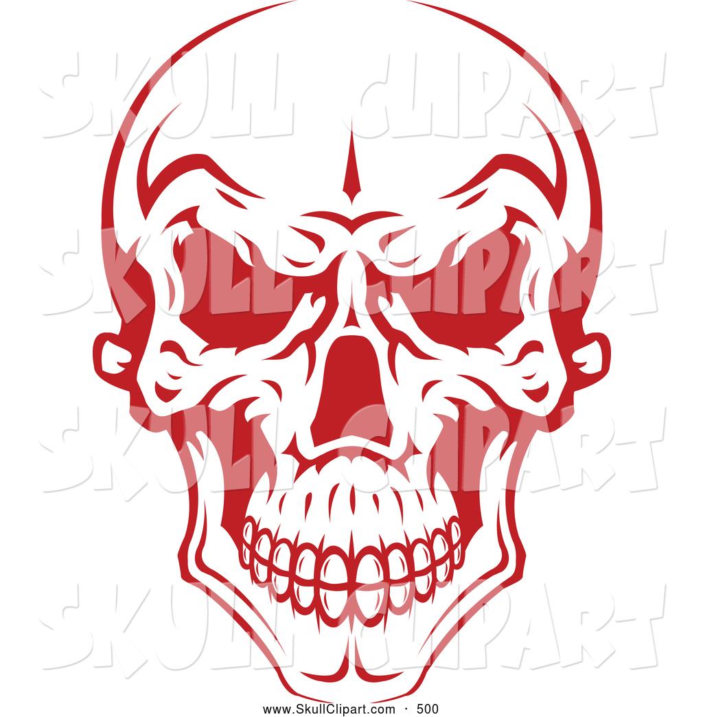 Evil Skull Vector Art
