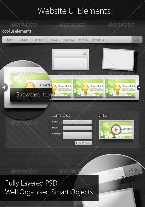 For Modern UI Web Template
