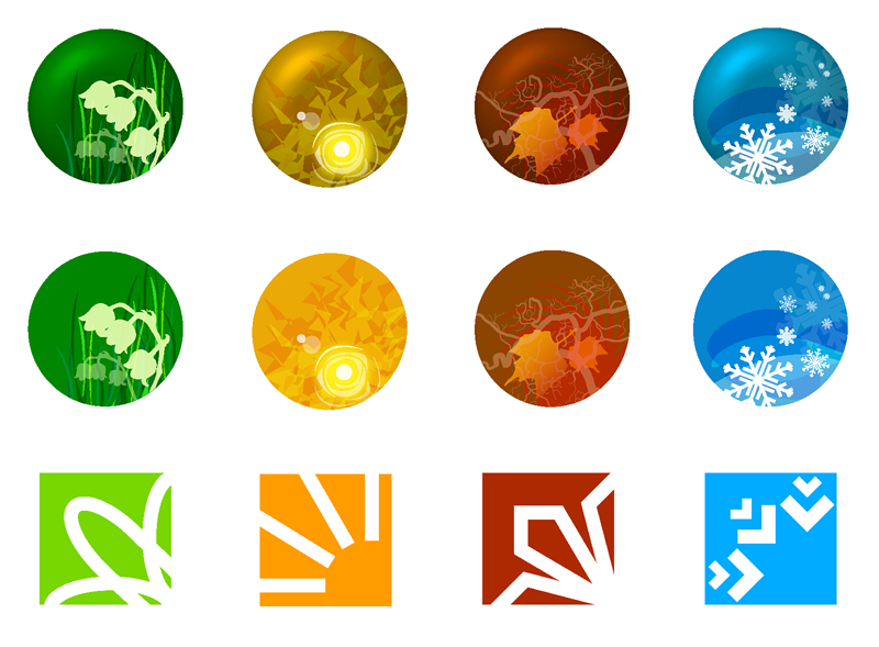 18 4 Seasons Icon Images