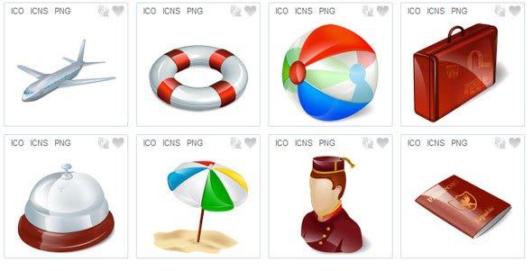 Free 3D Web Icons Sets