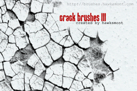 cracked effect photoshop