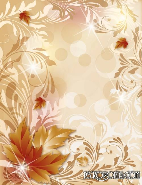 Free Autumn Leaves Photoshop