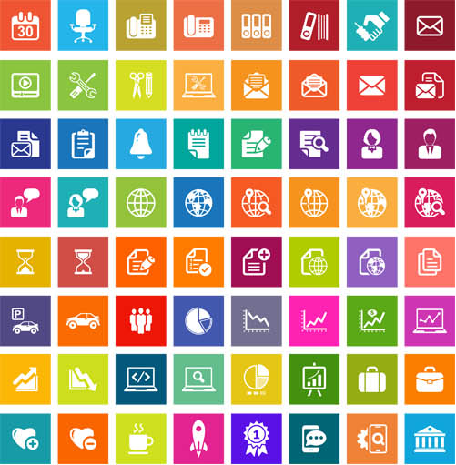 Free Business Icons Flat