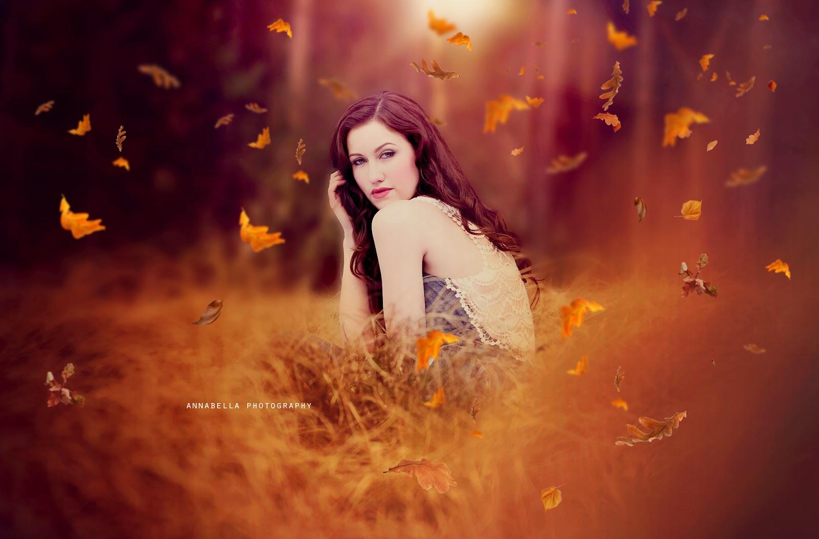 Free Falling Leaf Overlay Photoshop