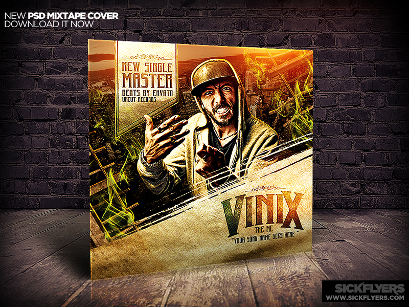 16 photoshop mixtape cover psd images
