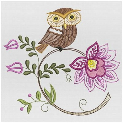 Owl embroidery designs free download images