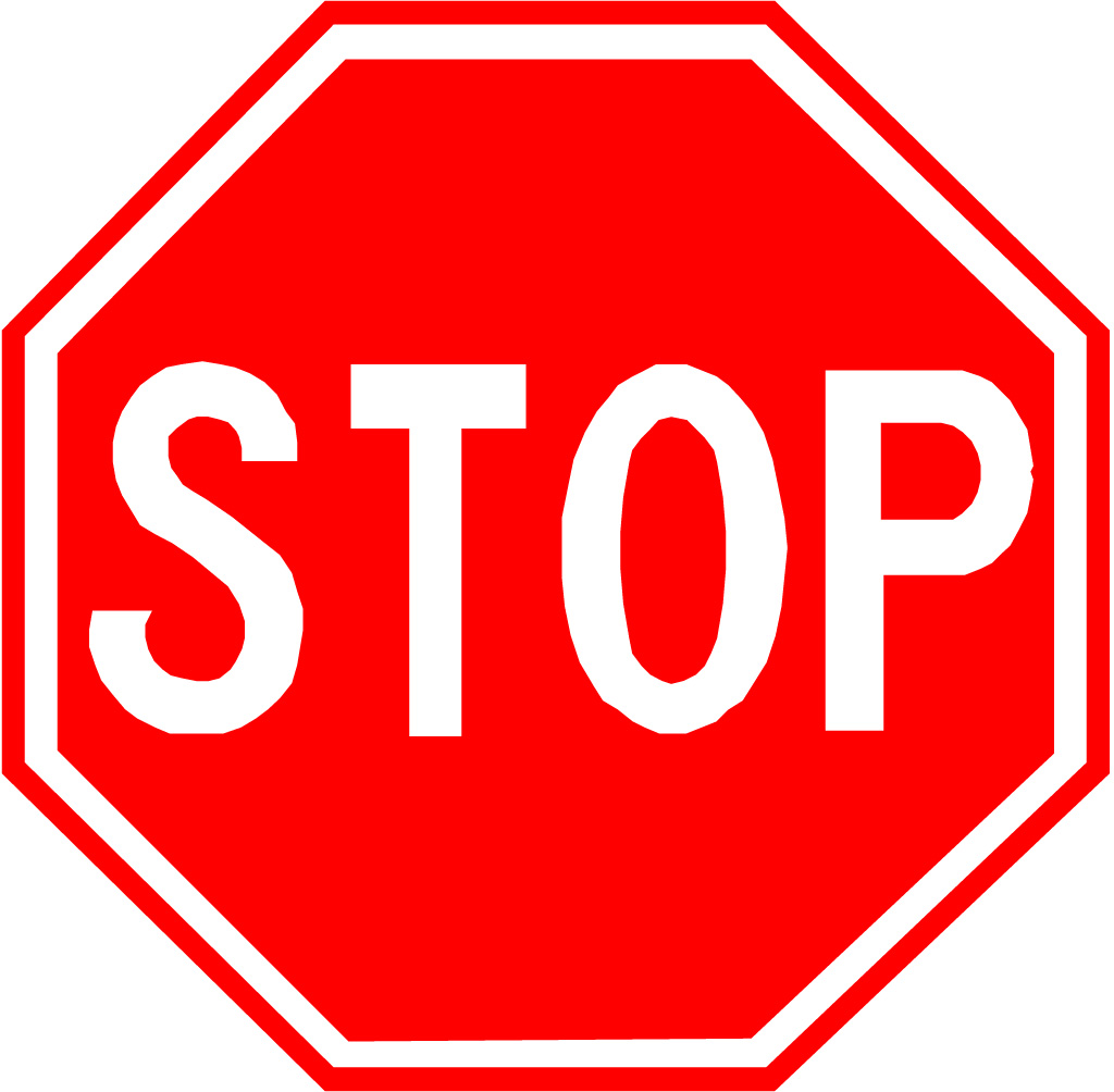 Free Printable Stop Sign Template