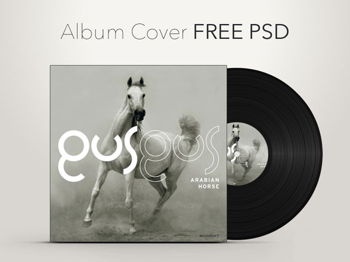 Free Psd Album Cover