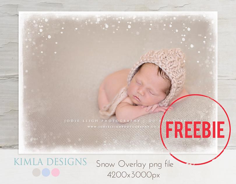 Free Snow Overlay Photoshop