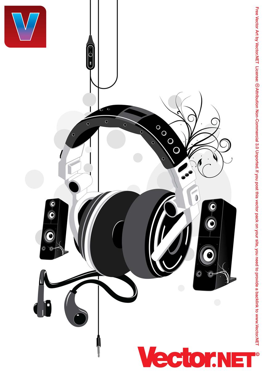 Free Vector Music Clip Art